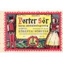 Etiquette Bière hongroise Porter Sör