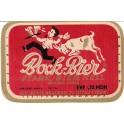 Etiquette Bock-Bier, stark-bier Hell