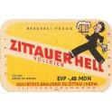 Etiquette Zittauer Hell, vollbier