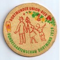 Sous-bock  Dortmunder Union-Bier 1959