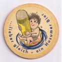 Sous-bock humoristique Vintage