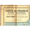 Rare Carte de France TARIDE