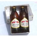 Bouteilles de bière Gruber Alsace