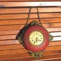 """Ancienne horloge """"boulangère"""" à suspendre"""