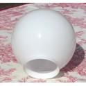 Globe en opaline - grand modèle