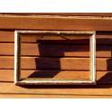Petit cadre ancien bois et plâtre doré