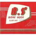 Etiquette Bière B.S 100 cl