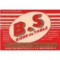 Etiquette Bière B.S