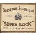 Etiquette Bière Schneider Super Bock