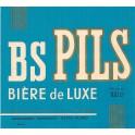 Etiquette Bière BS  Pils 100 cl