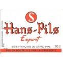 Etiquette Bière Hans-Pils Export