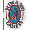 Etiquette Bière Hinano de Tahiti