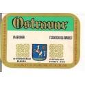Etiquette Bière Ostravar