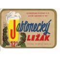 Etiquette Bière Jablonecky