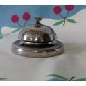 Ancienne sonnette de comptoir chromée