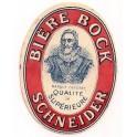 Etiquette Bière Schneider - médaillon Henri IV