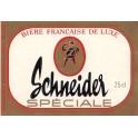 Etiquette Bière Schneider spéciale